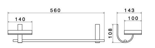 Аксессуар Newform 60264/60265