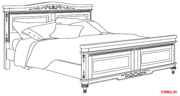 Спальный гарнитур Corso Romanza