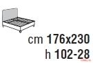 Кровать Cantori Iseo (bed)