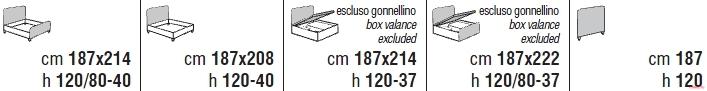 Кровать Cantori Raphael