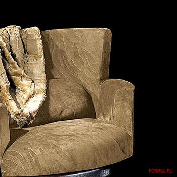 Кресло Smania Hambo lux & pouf