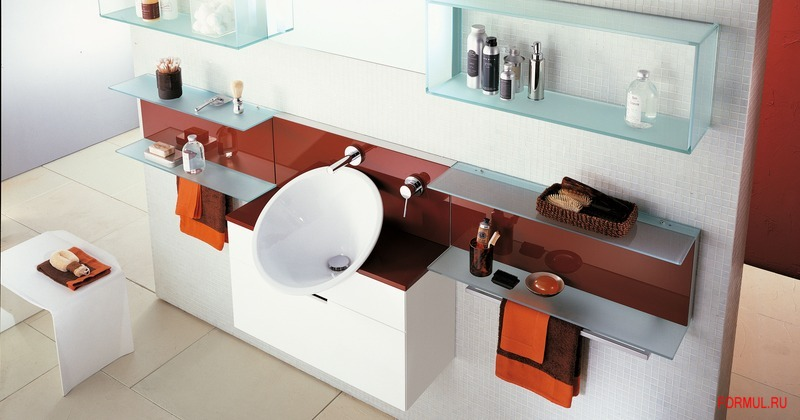 Комплект мебели для ванной Rifra Zenit comp.6