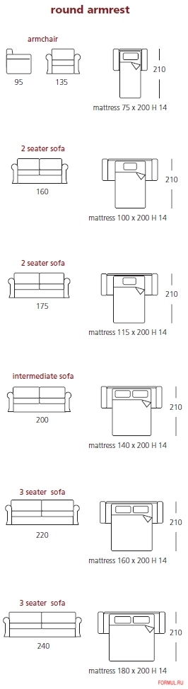 Диван кровать Asnaghi Martina