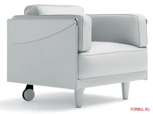 Диван и кресло Poltrona Frau Twice