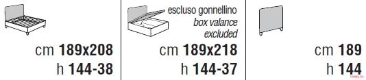 Кровать Cantori Klimt