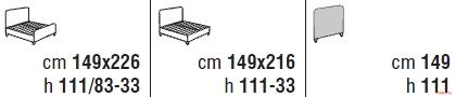 Кровать Cantori Luigi Filippo