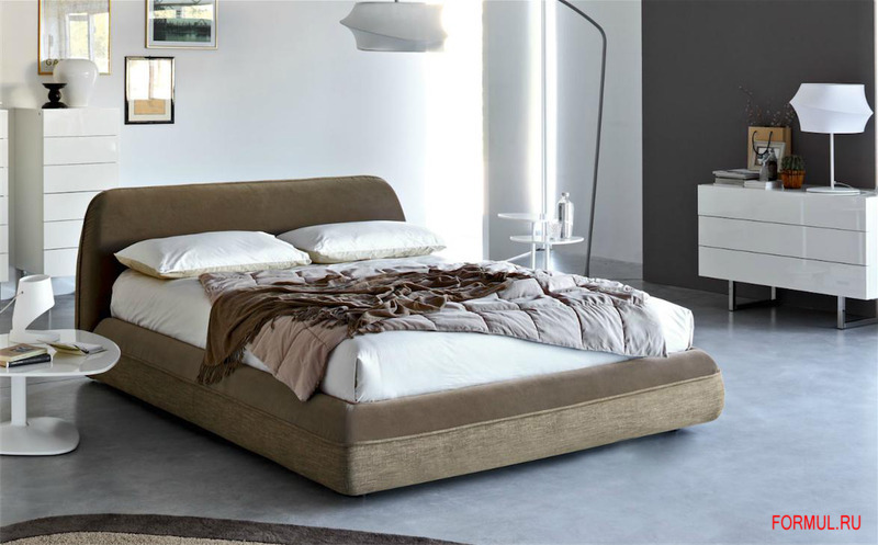 Кровать Calligaris Supersoft Bed CS/6027-GC