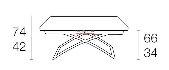 Стол трансформер Connubia Magic-J CB/5041-G