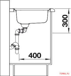 Кухонная мойка Blanco CLASSIC 45 S-IF