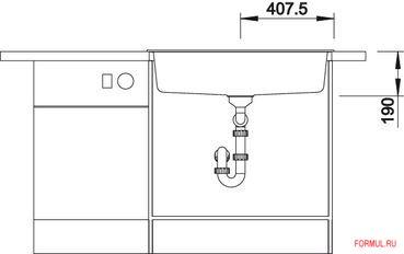 Кухонная мойка Blanco DALAGO 8