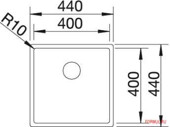 Кухонная мойка Blanco CLARON 400-IF
