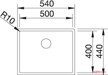 Кухонная мойка Blanco CLARON 500-IF
