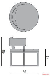Кресло Porada Sirio