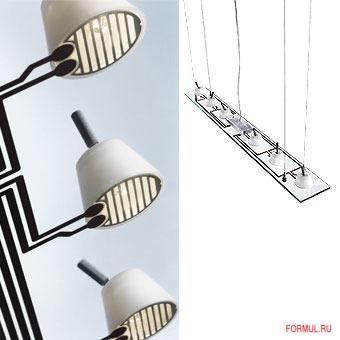 Потолочная лампа Flos Lastra