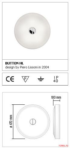 Светильник Flos Button HL