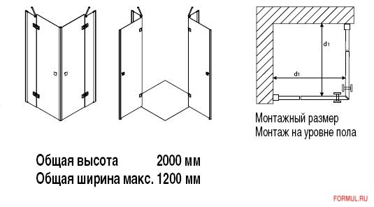 Душевая кабина Geo geoNova 4070