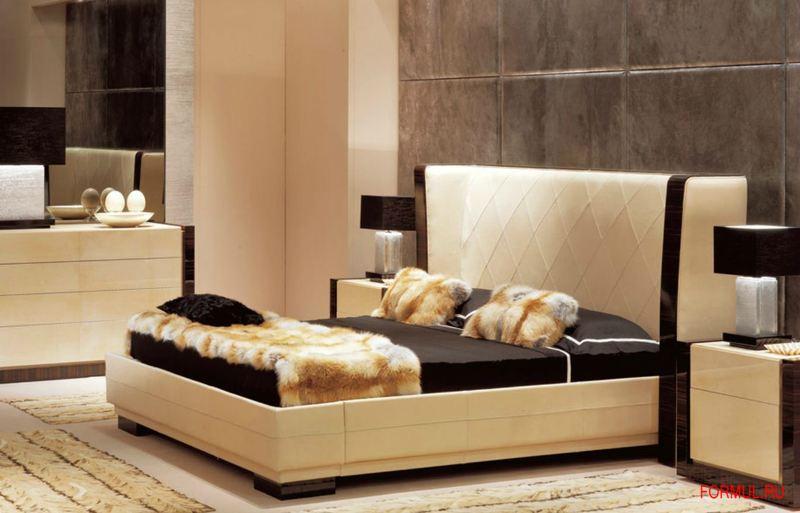 Кровать Ulivi Salotti Savoy Ebano