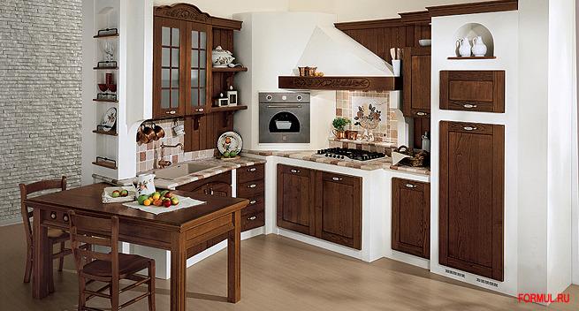 салон магазин мебели из италии Мебель для Кухни AR-TRE модель Signoressa