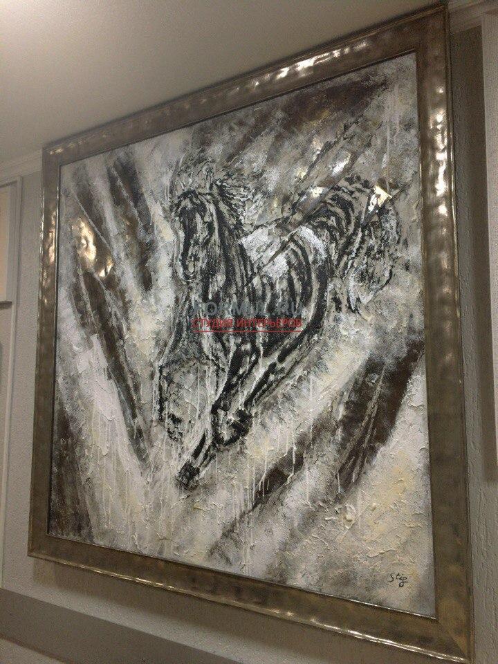 Картина Авторская работа Лошадь