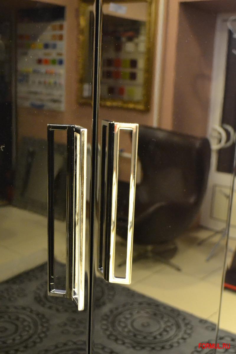 Шкаф Spar шести-створчатый из коллекции Unica - цвет черный лак