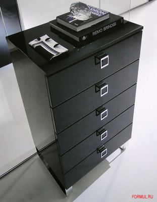 Комод Spar Metro из коллекции Unica - цвет черный