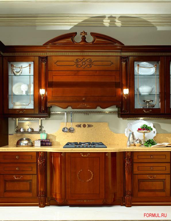 Кухня Tomassi Artemide noce