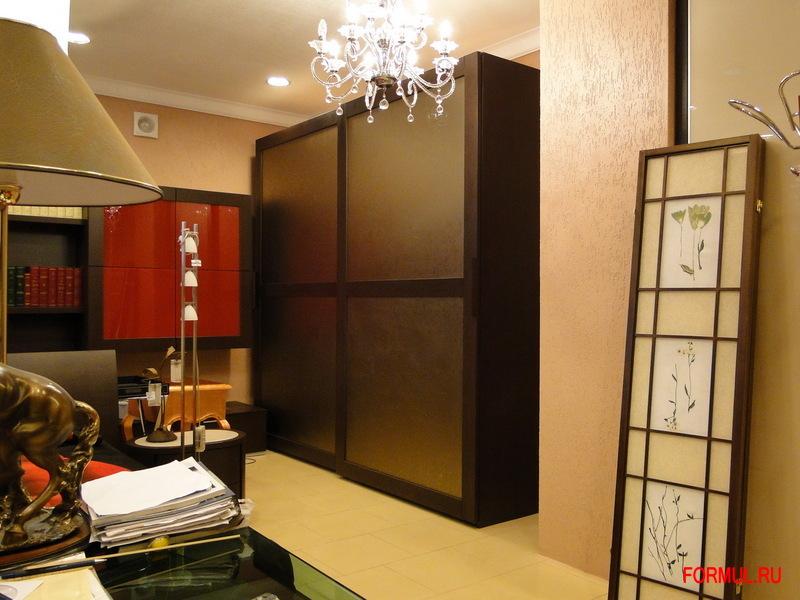 Шкаф купе Spar Frame из коллекции Pacifico - цвет wenge