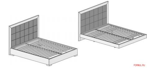 Кровать Mazzali DAFNE