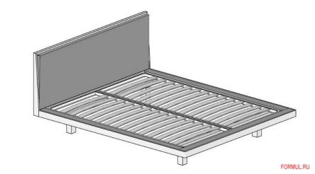 Кровать Mazzali Slim