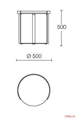 Столик Misura Emme Ring