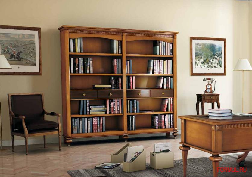 Книжный шкаф cp mobili art. a59 купить мебель для гостиной и.