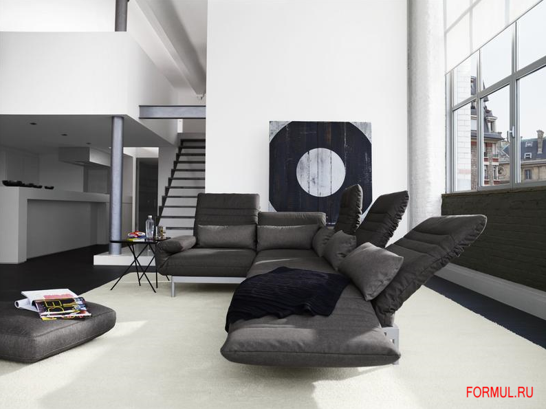 rolf benz plura corner sofa. Black Bedroom Furniture Sets. Home Design Ideas