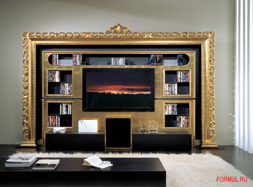 the wall baroque - home cinema