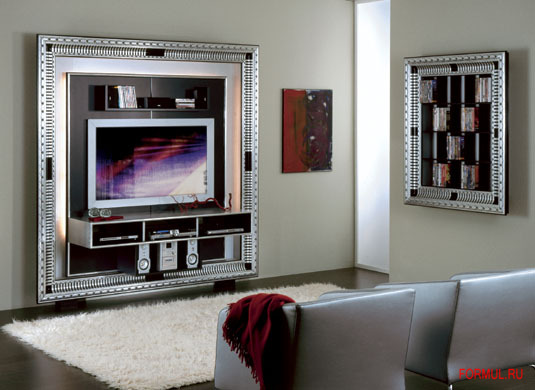 formul ru vismara the frame art deco home cinema. Black Bedroom Furniture Sets. Home Design Ideas