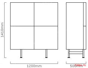 Буфет Calligaris Horizon CS/6017-2A
