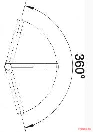 Смеситель Blanco ALTA Compact SILGRANIT