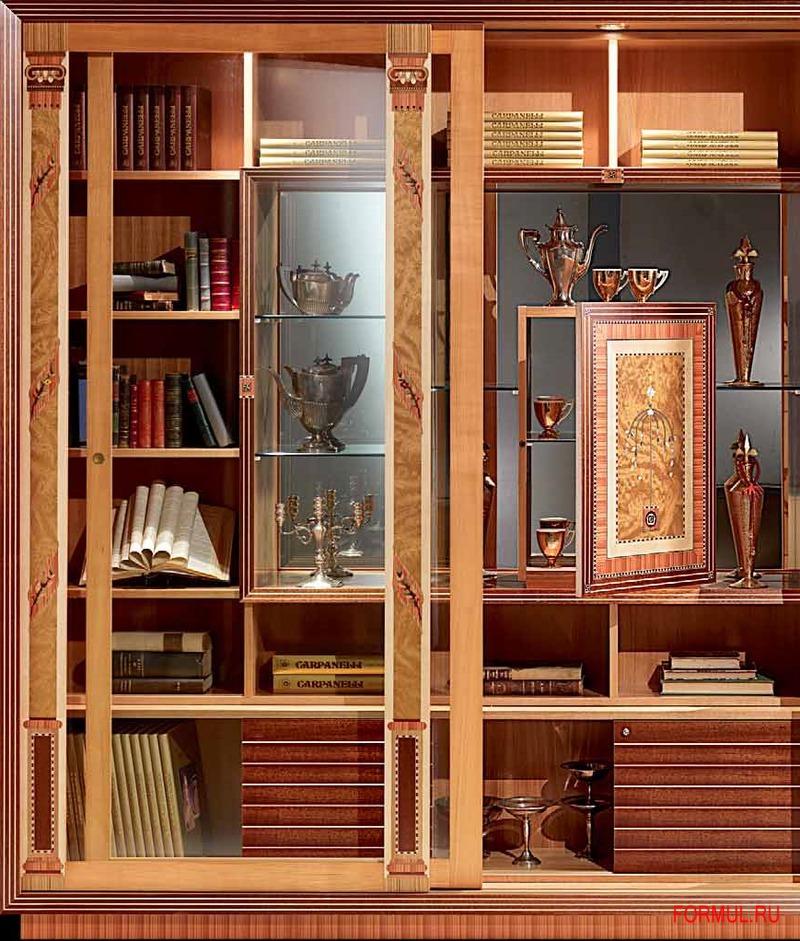 Книжный шкаф carpanelli vl661 купить мебель для гостиной ита.