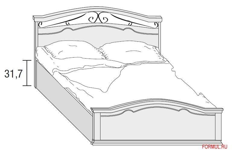 Кровать Tomasella 67155