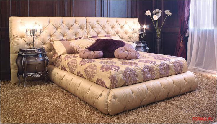 Кровать epoque basil