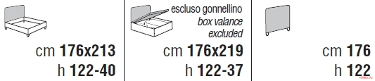 Кровать Cantori Helios