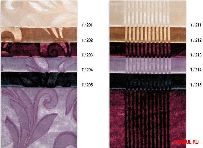 Комплект мебели для ванной Formichi Poetic assonances of forms and styles