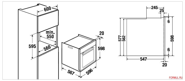 Схемы и угловых шкафов 122