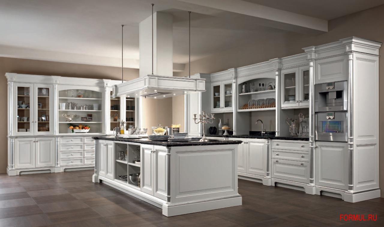 кухня с пилястрами схема сборки