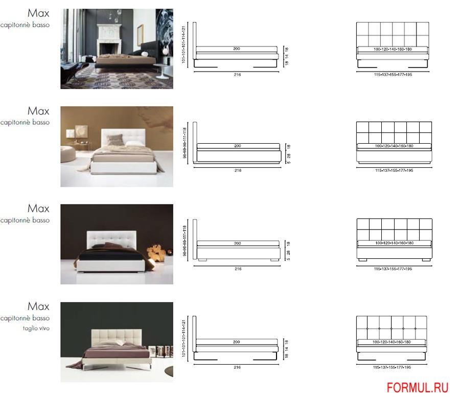 Кровать с мягким изголовьем чертежи
