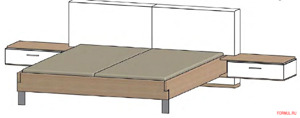 Спальный гарнитур Thielemeyer LOFT