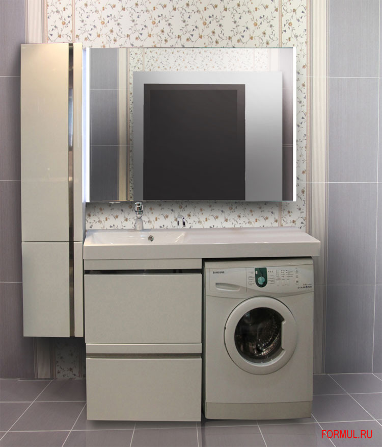 Комплект мебели для ванной lotos 120
