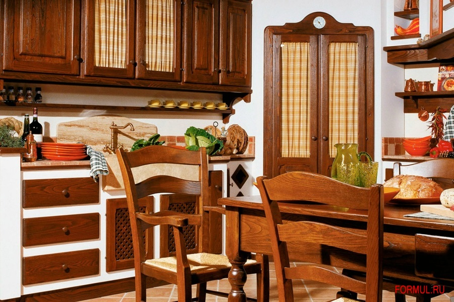 Кухня Le Cucine Dei Mastri Mastro CECCO Chestnut | Купить Мебель для ...