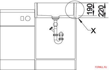 Кухонная мойка Blanco PANOR 60
