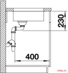 Кухонная мойка Blanco ANDANO 180-U