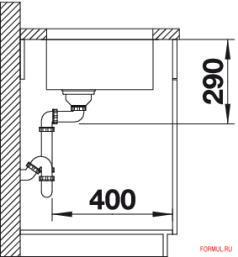Кухонная мойка Blanco ANDANO 340-U
